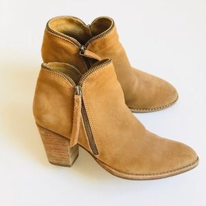 Dolce Vita Jana Suede Ankle Booties - 8